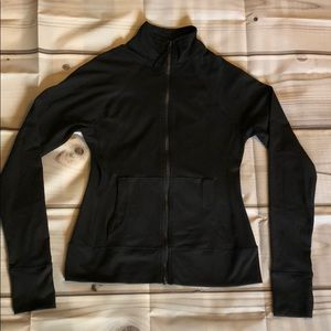 Threads 4 Thought Black Zip-up Activewear Jacket